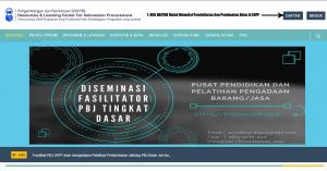 Tata Cara Daftar Baru Pembuatan Akun di PPSDM LKPP 1