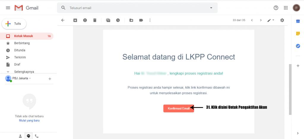 Tata Cara Daftar Baru Pembuatan Akun di PPSDM LKPP 8